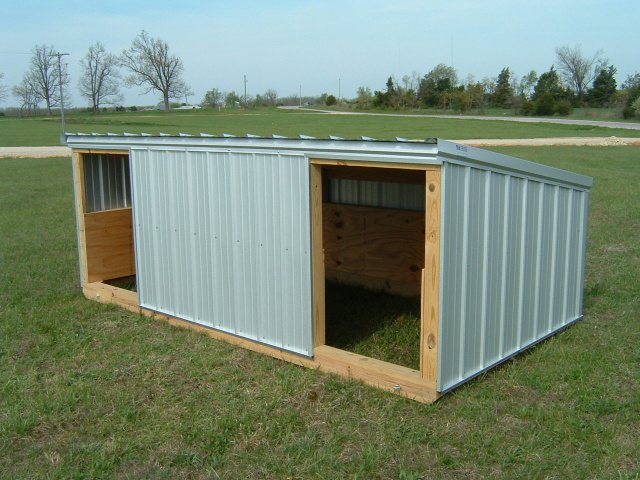 Portable sheep shelter for Building a dog kennel business