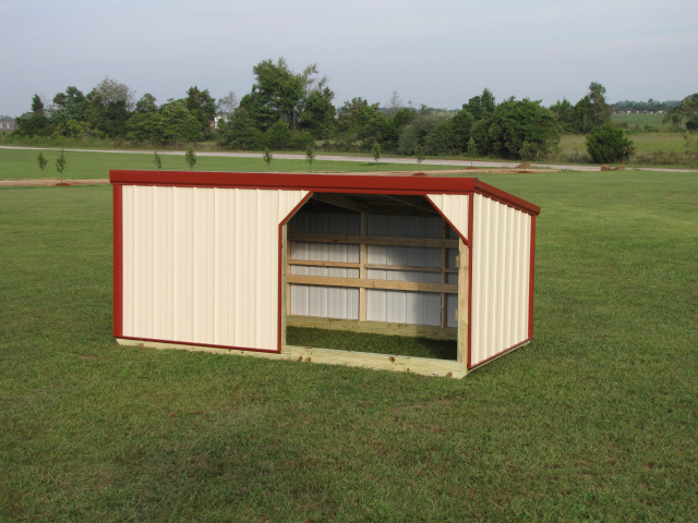 Small Metal Shelters : Small animal shelters